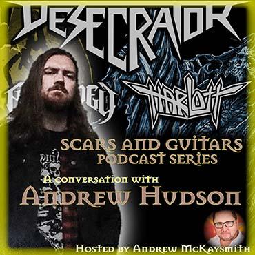 Andrew Hudson (Harlott/ Desecrator)
