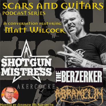 Matt Wilcock Guitar (Shotgun Mistress/ ex- The Berzerker/ ex- Akercocke/ Abramelin)