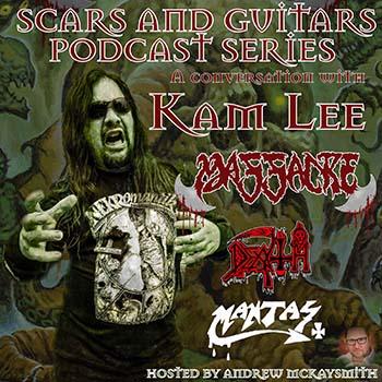 Kam Lee (Massacre/ ex- Death/ ex- Mantas)