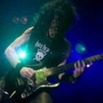 Trey Azagthoth. The mysterious death metal guitar icon in Morbid Angel.